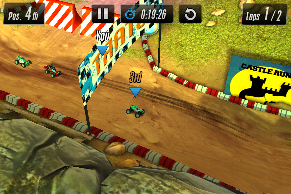 Touch Racing 2 androidアプリスクリーンショット1