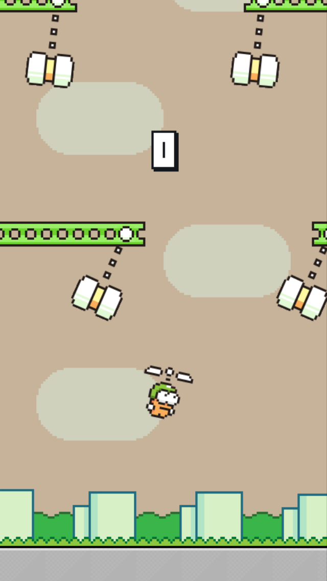 Swing Copters androidアプリスクリーンショット1