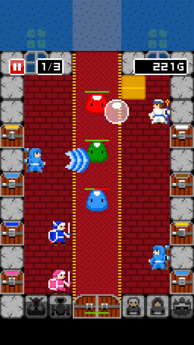 一本道RPG外伝 伝説の宿屋の伝説 androidアプリスクリーンショット1