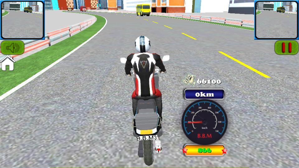 バイクマルチプレイ3D androidアプリスクリーンショット1