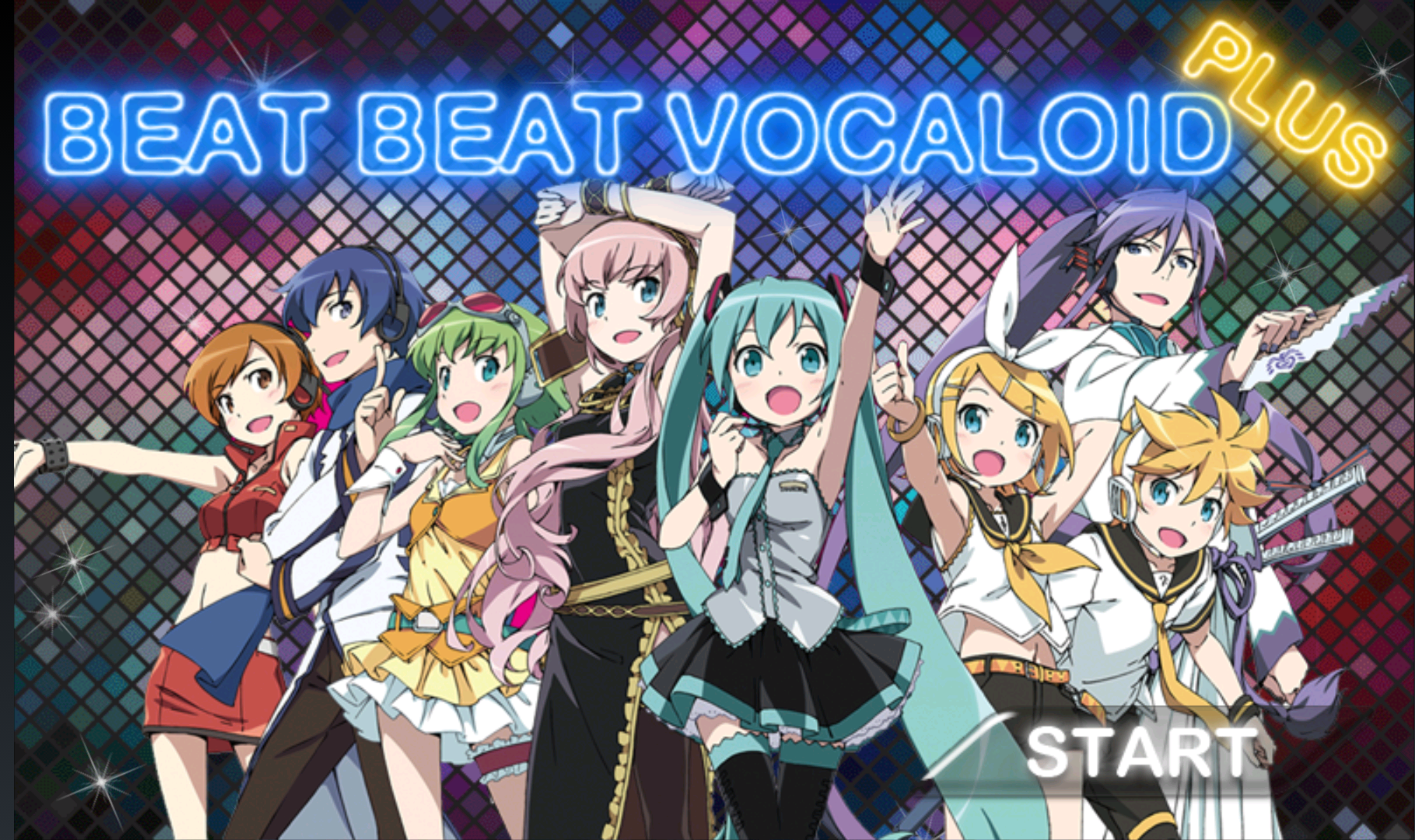 androidアプリ Beat Beat Vocaloid攻略スクリーンショット1