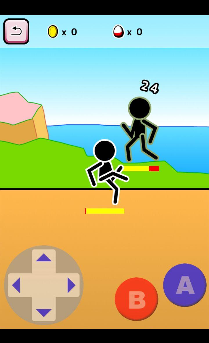 格闘RPG「肉拳」 androidアプリスクリーンショット1