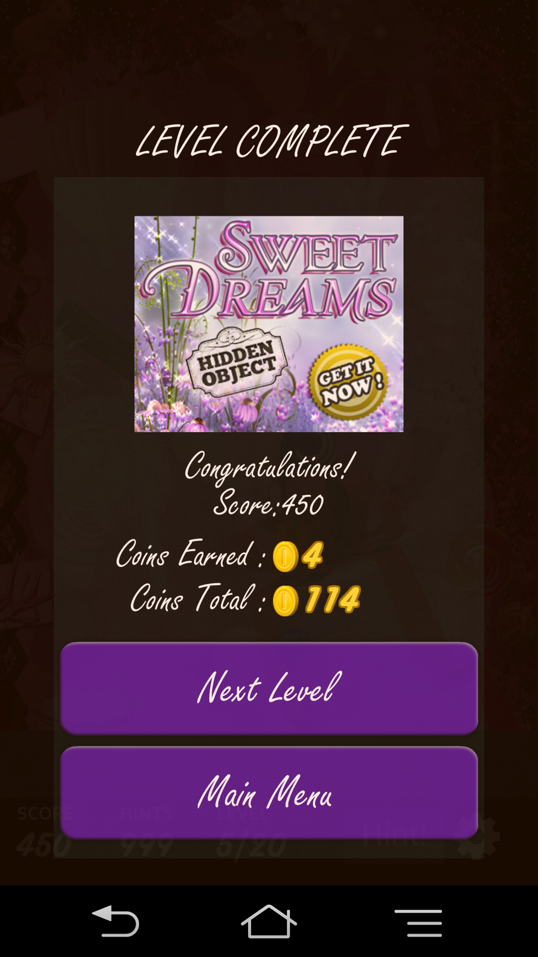 androidアプリ Hidden Object - Candy Crunch攻略スクリーンショット1