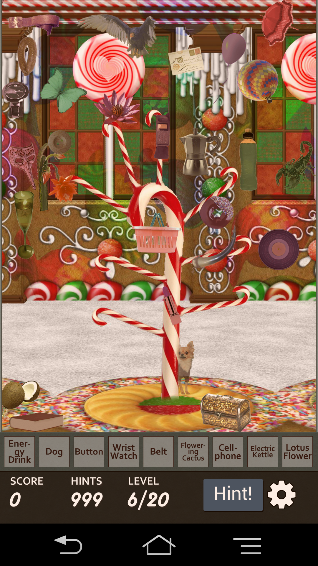 androidアプリ Hidden Object - Candy Crunch攻略スクリーンショット3