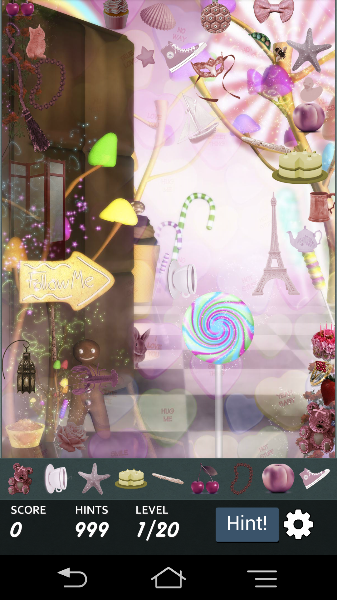 Hidden Object - Candy Crunch androidアプリスクリーンショット1