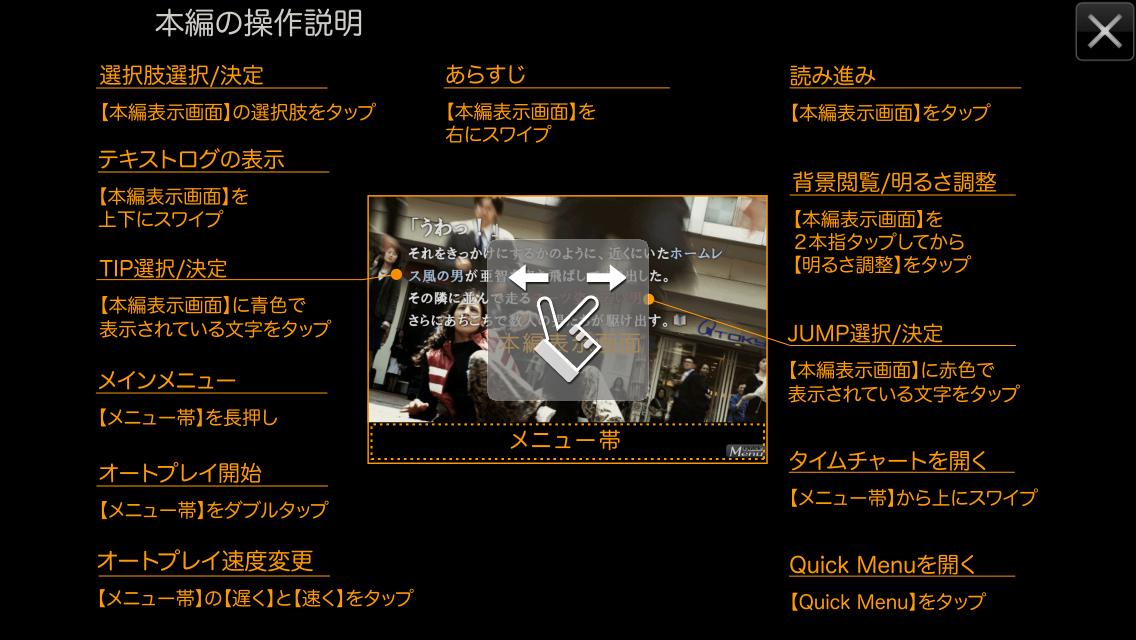 androidアプリ 428-封鎖された渋谷で-攻略スクリーンショット2