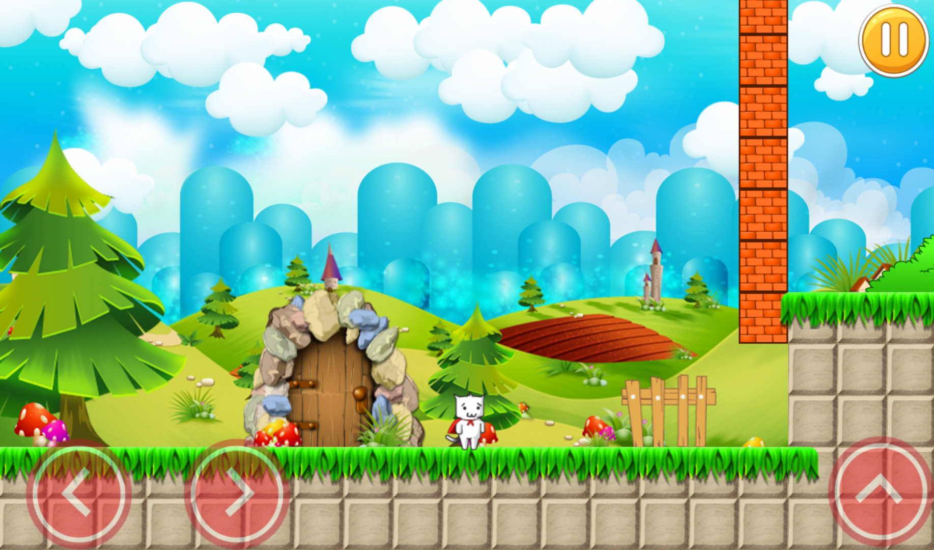 Super Kitty World androidアプリスクリーンショット1