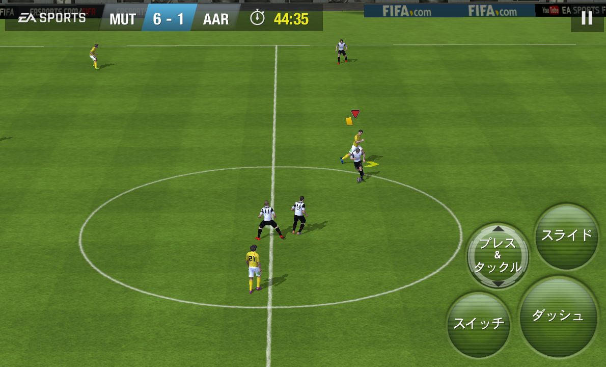 FIFA 15 Ultimate Team androidアプリスクリーンショット1