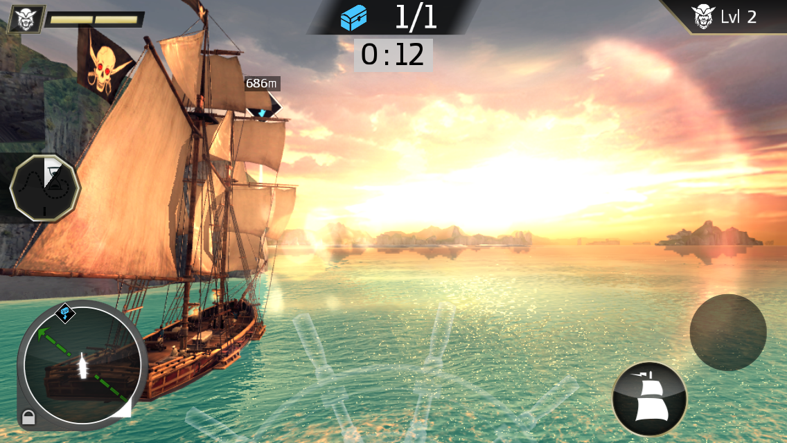 Assassin's Creed Pirates androidアプリスクリーンショット1