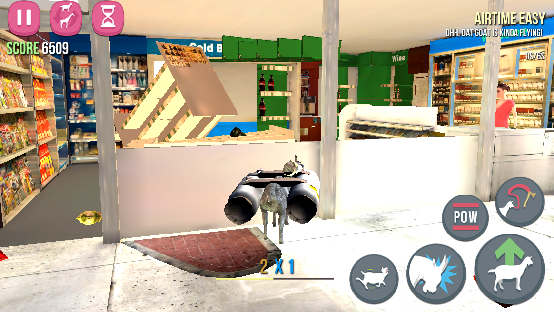 androidアプリ Goat Simulator攻略スクリーンショット4