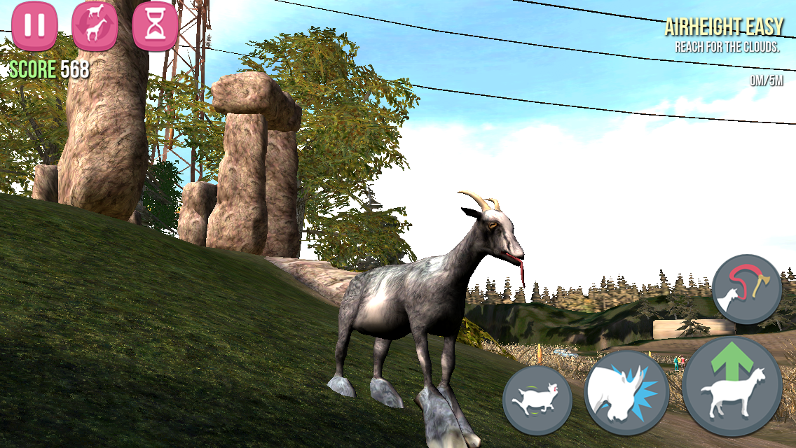 Goat Simulator androidアプリスクリーンショット1