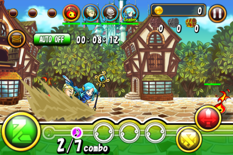 リズム王国とタップ兵団 androidアプリスクリーンショット1