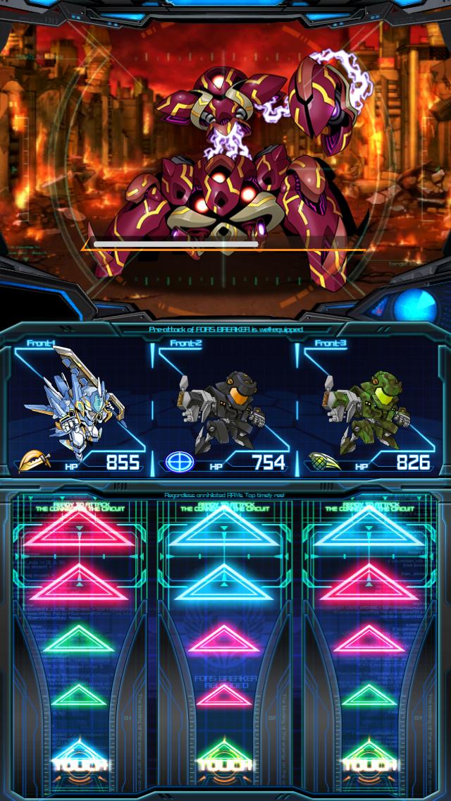 ジェネラルギア~反撃の神機~ androidアプリスクリーンショット1
