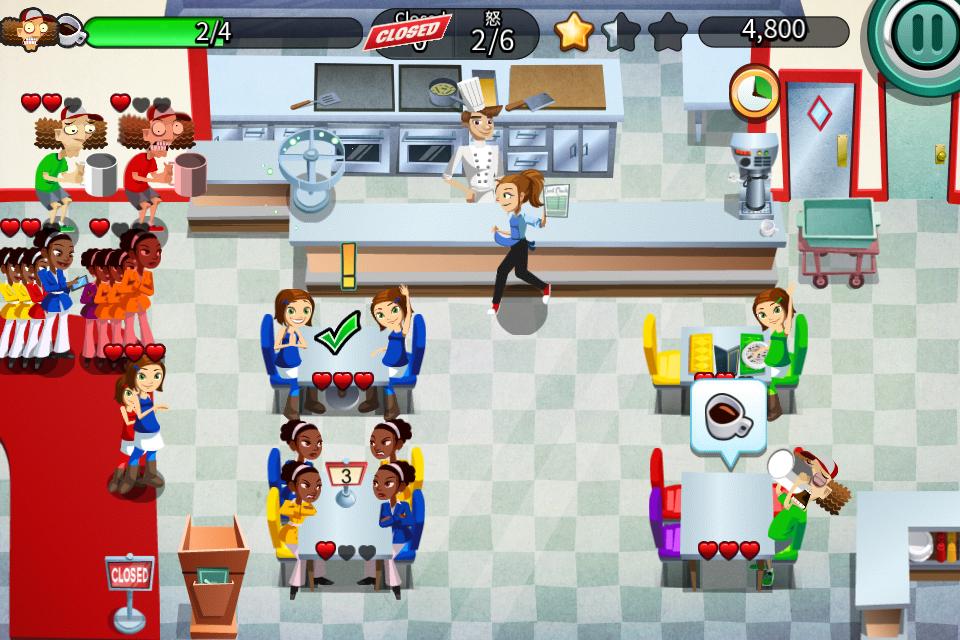 レストラン・ダッシュ androidアプリスクリーンショット1