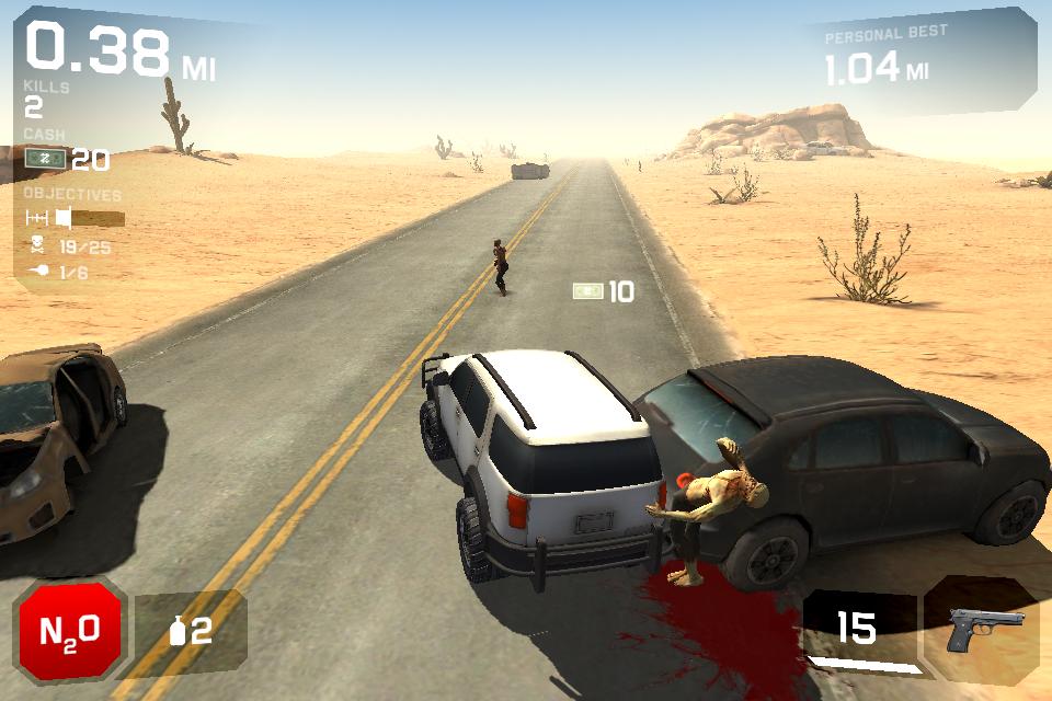 Zombie Highway 2 androidアプリスクリーンショット1