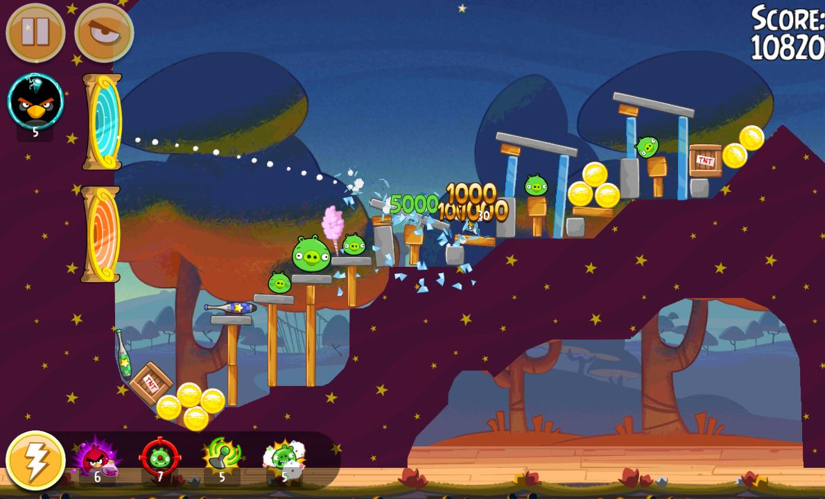 Angry Birds Seasons androidアプリスクリーンショット1