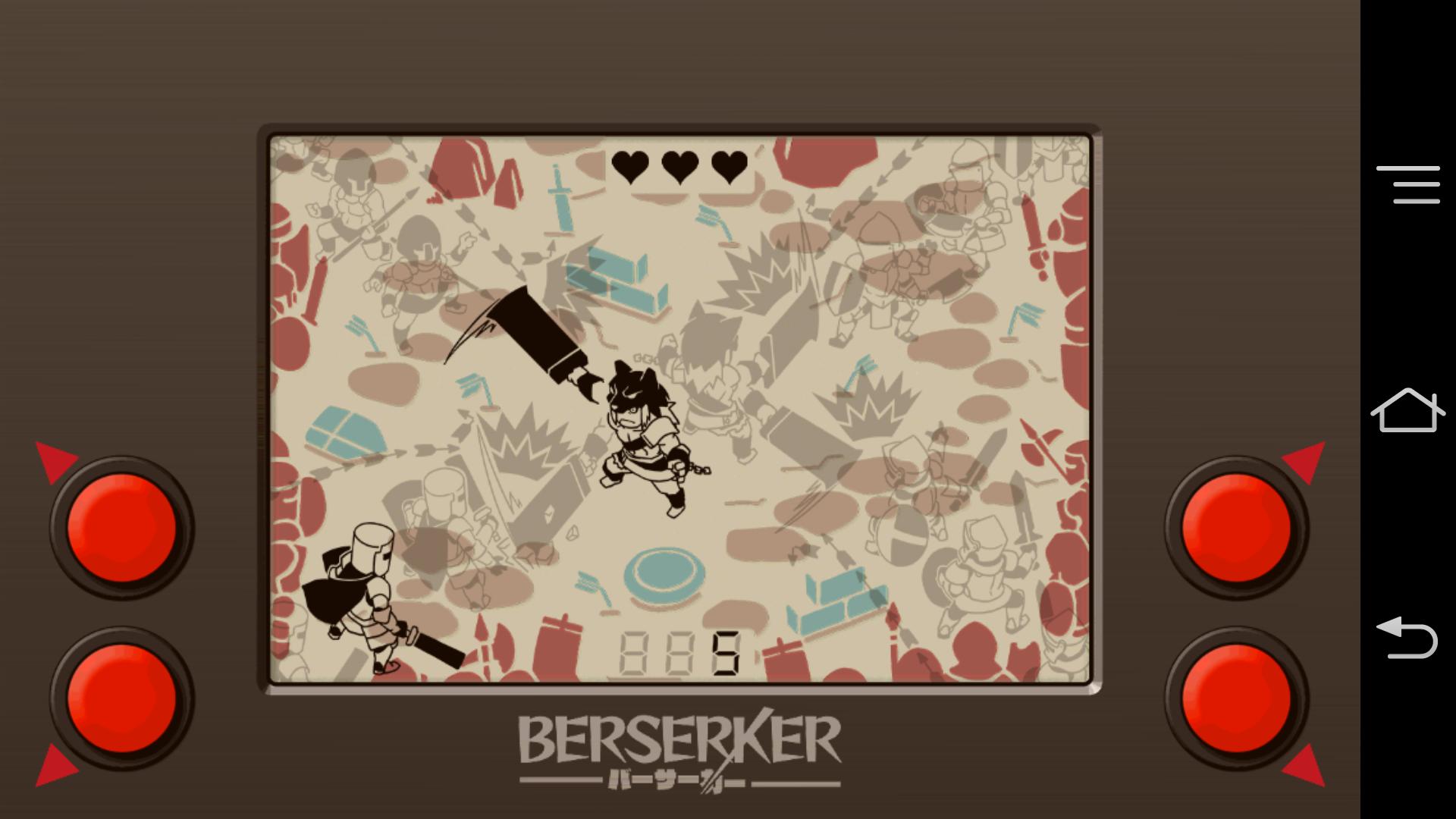 バーサーカー - BERSERKER - androidアプリスクリーンショット1