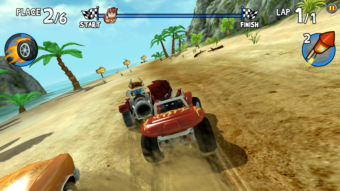 Beach Buggy Racing androidアプリスクリーンショット1