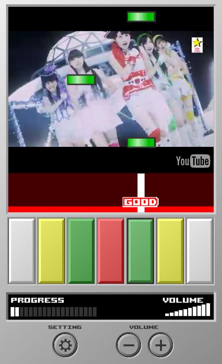 Pop'nTube(ポップンチューブ) androidアプリスクリーンショット1