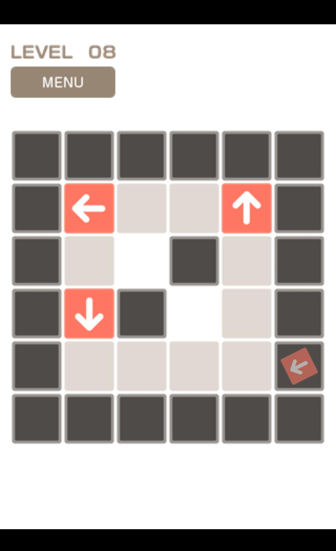 Arrowed 矢印のパズル androidアプリスクリーンショット1