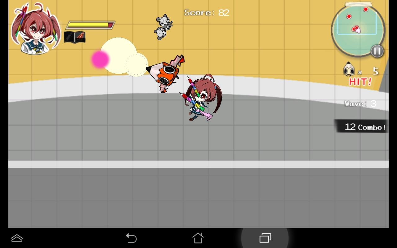 androidアプリ はさみさんの不眠不休攻略スクリーンショット2
