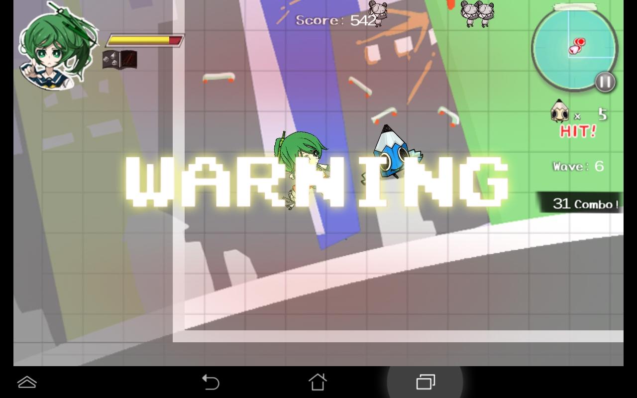 androidアプリ はさみさんの不眠不休攻略スクリーンショット3