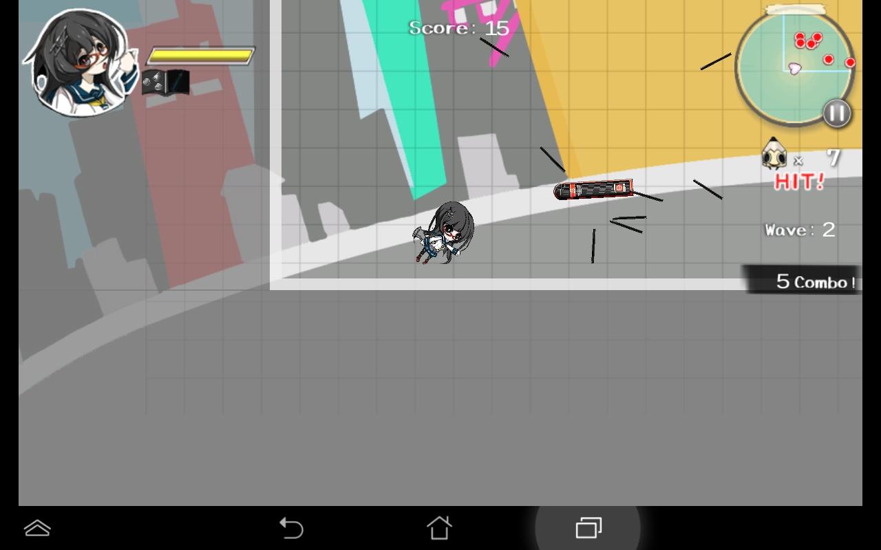 androidアプリ はさみさんの不眠不休攻略スクリーンショット4