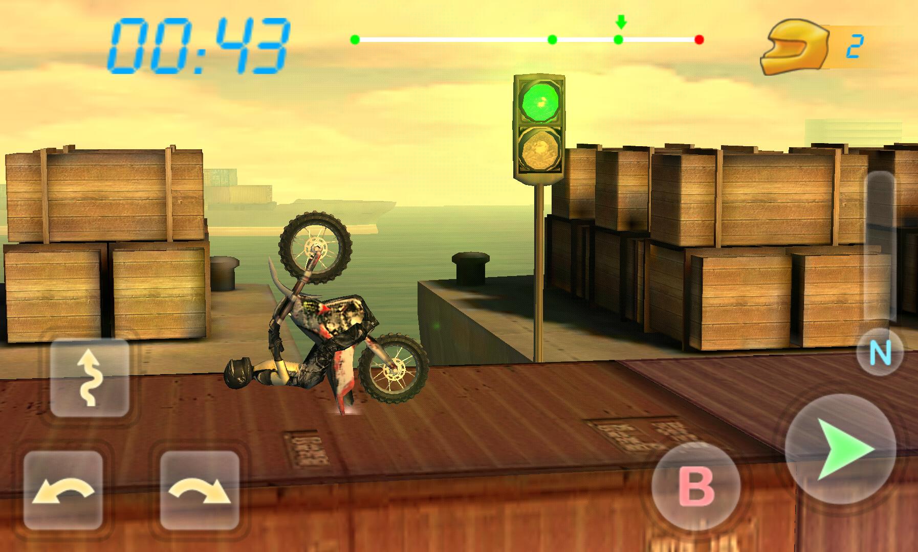バイクレーシング3D - Bike Racing androidアプリスクリーンショット1