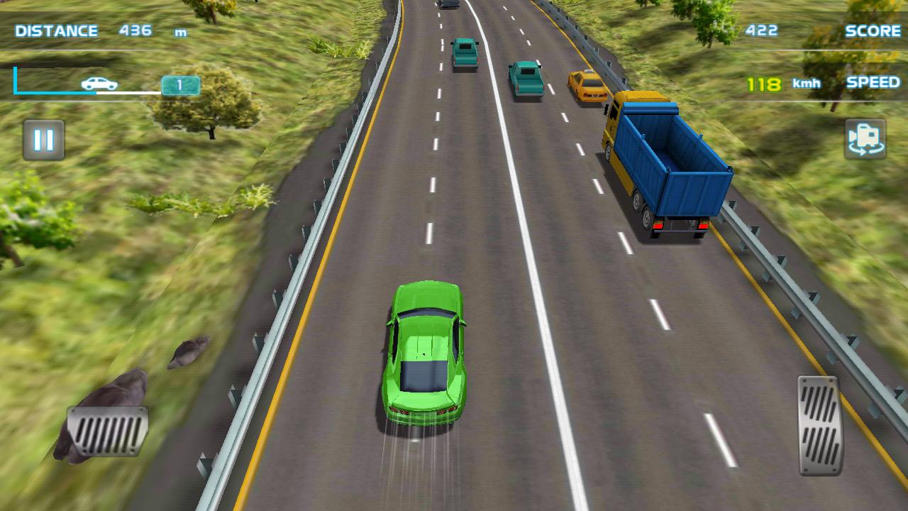 ターボレーシング3D - Turbo Racing androidアプリスクリーンショット1