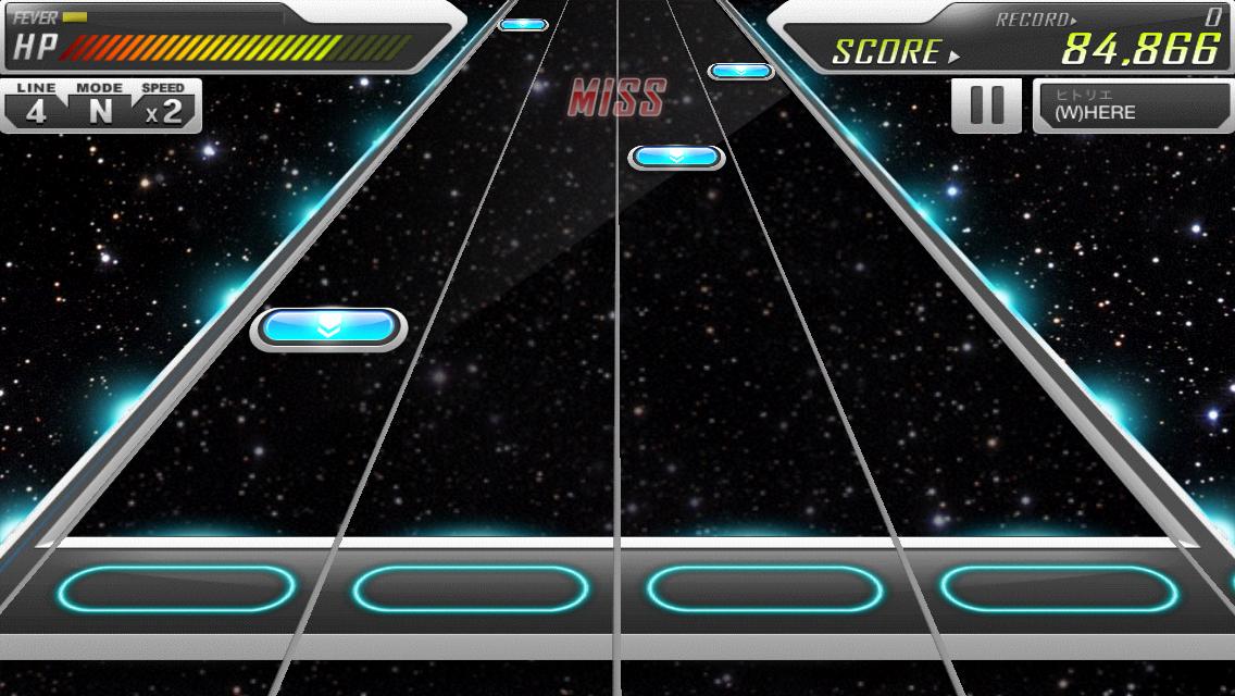 BEAT MP3 2.0 - フィンガーダンス androidアプリスクリーンショット1