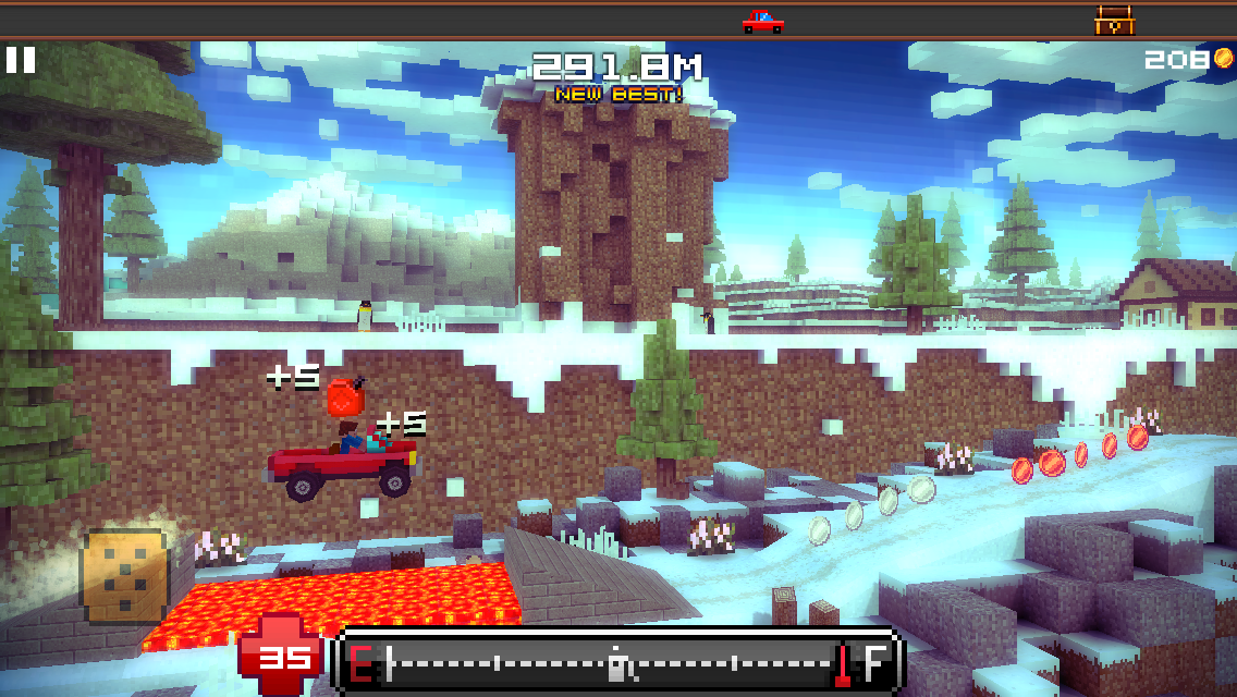 Blocky Roads androidアプリスクリーンショット1