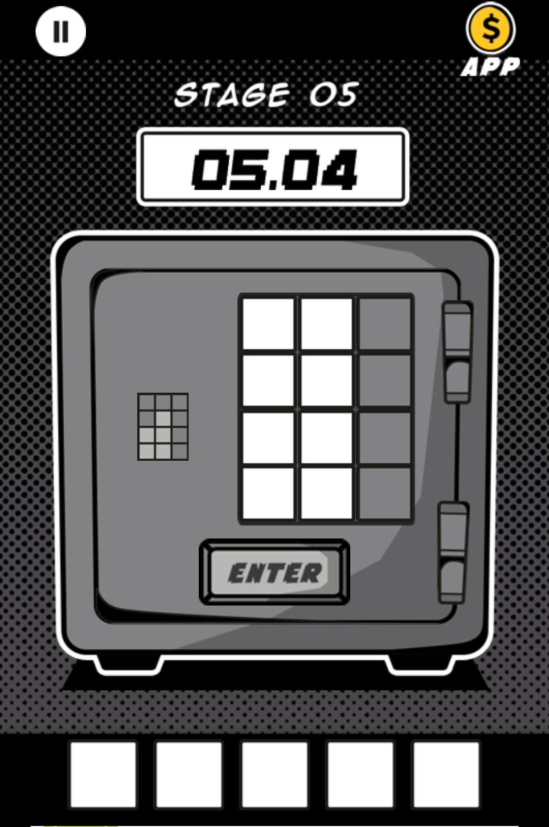脱出ゲーム SAFE CRACKER androidアプリスクリーンショット1