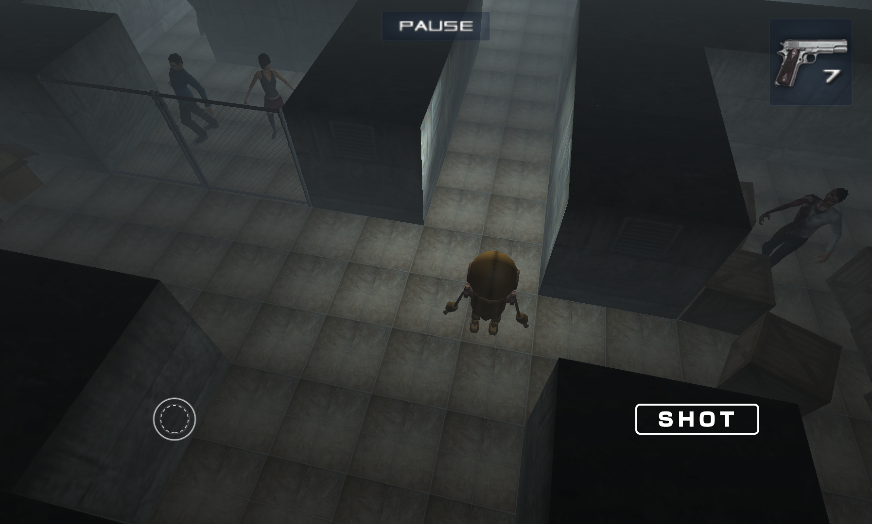 ZOMBIES IN THE DARK MAZE androidアプリスクリーンショット1