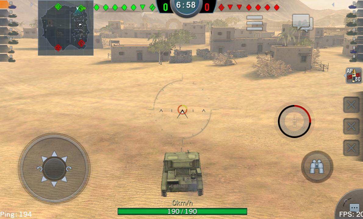 androidアプリ World of Tanks Blitz攻略スクリーンショット2