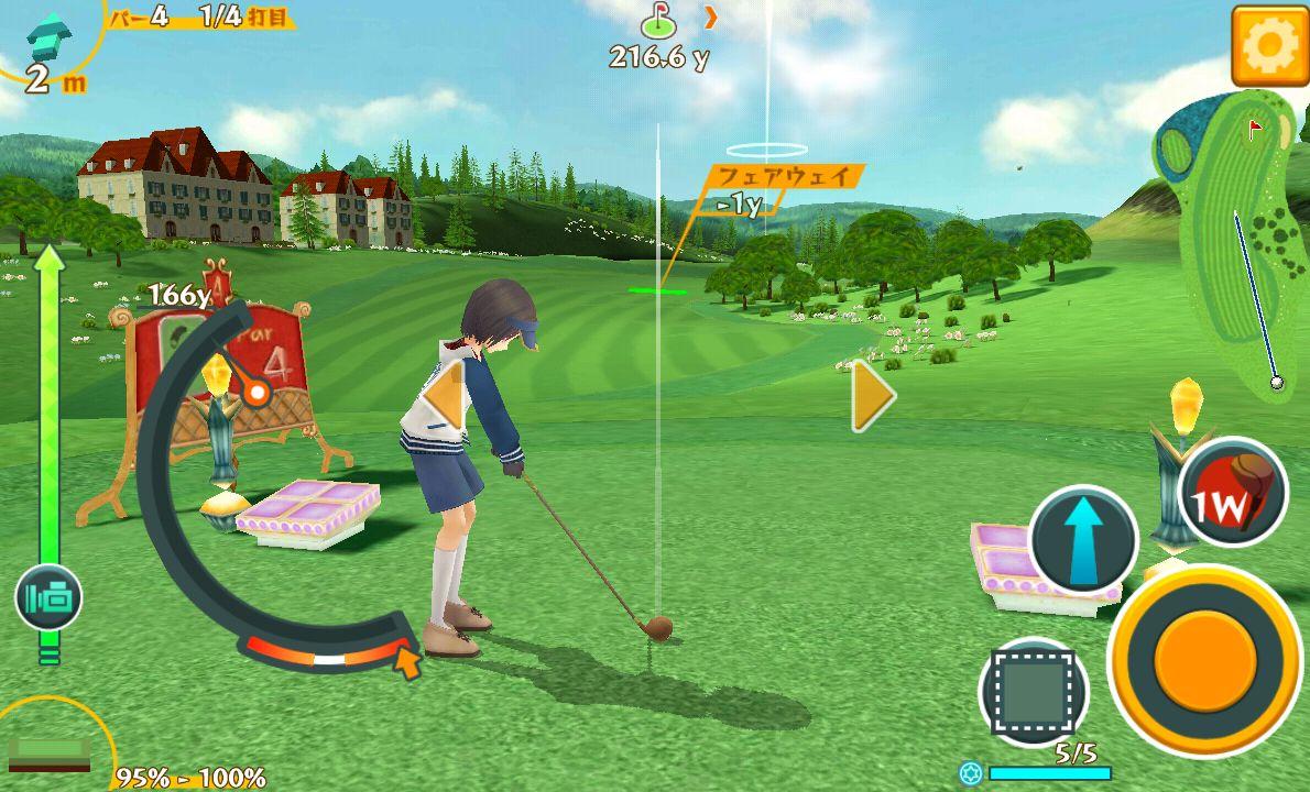 androidアプリ スマホでゴルフ! ぐるぐるイーグル攻略スクリーンショット3
