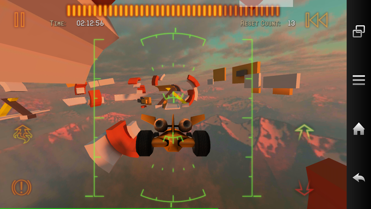 Jet Car Stunts 2 androidアプリスクリーンショット1