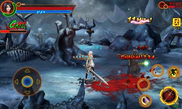 格闘刀魂 androidアプリスクリーンショット1