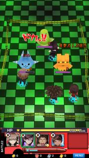 ダンガンロンパ-Unlimited Battle- androidアプリスクリーンショット1