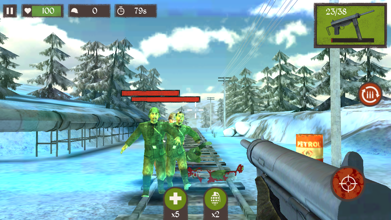 Zombie Call: Dead Shooter FPS androidアプリスクリーンショット1
