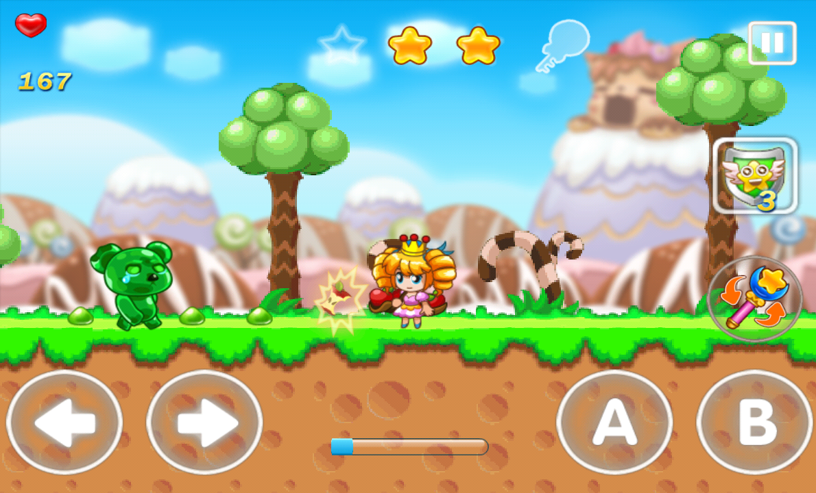 Candy Kingdom-Shooting Game androidアプリスクリーンショット1