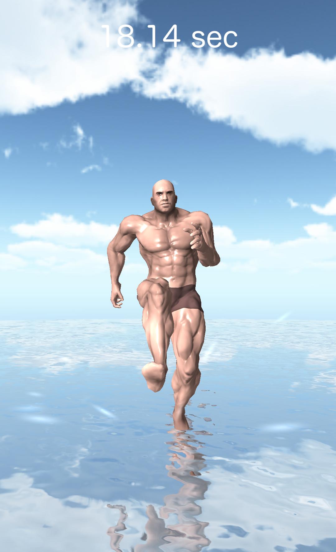海の上の筋肉 androidアプリスクリーンショット1