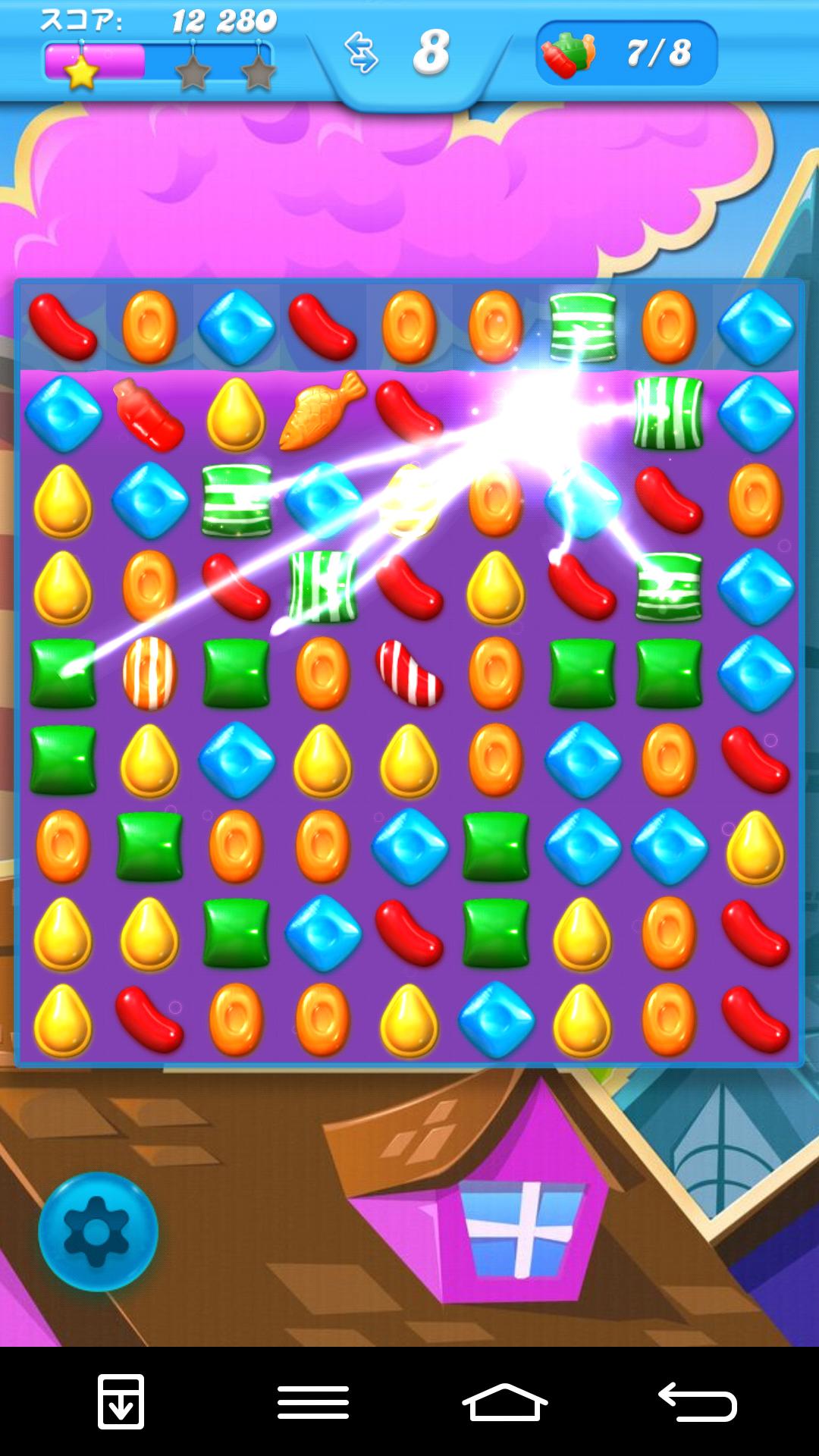 キャンディークラッシュソーダ androidアプリスクリーンショット1