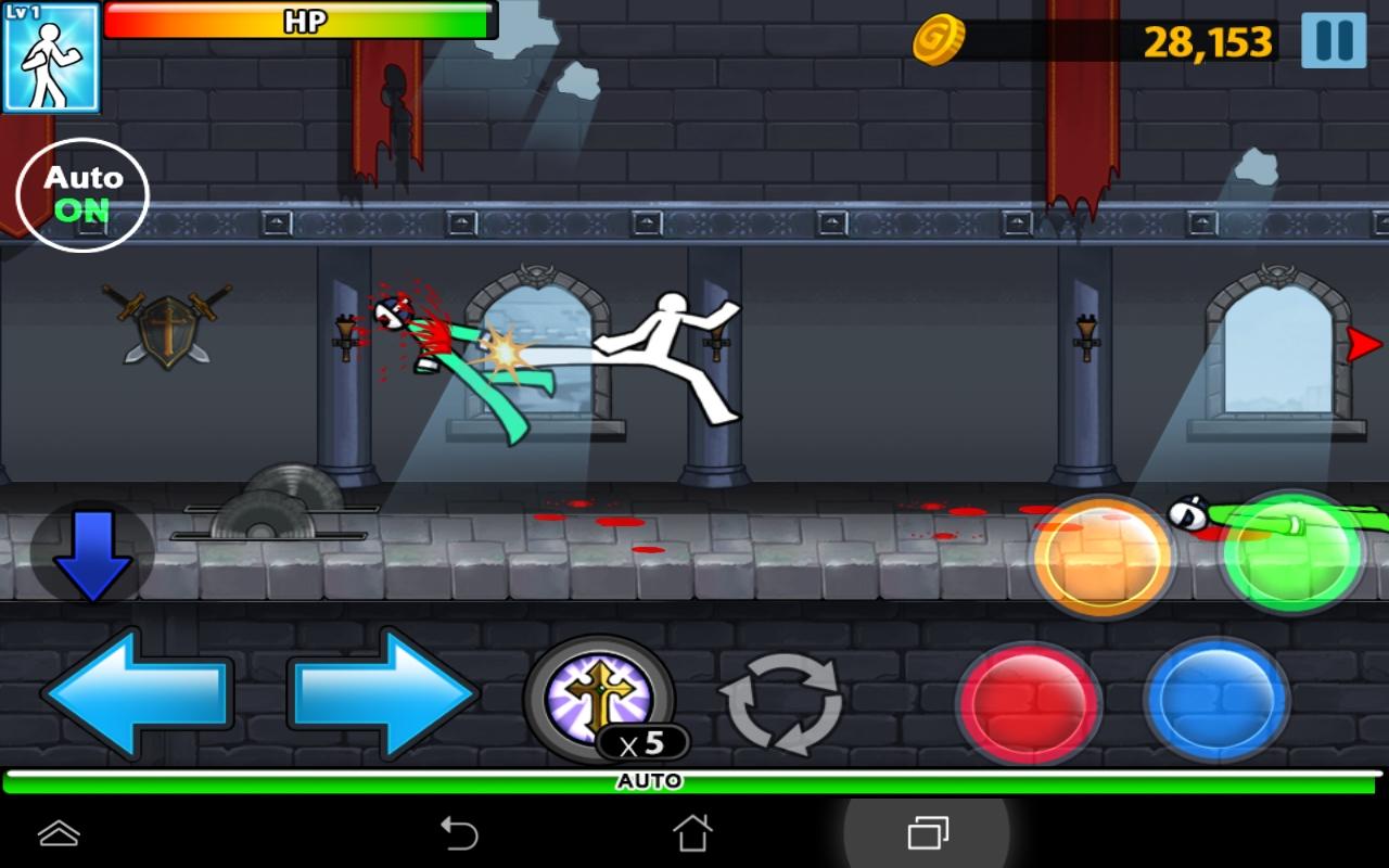 Anger Of Stick 4(アンガーオブスティック) androidアプリスクリーンショット1