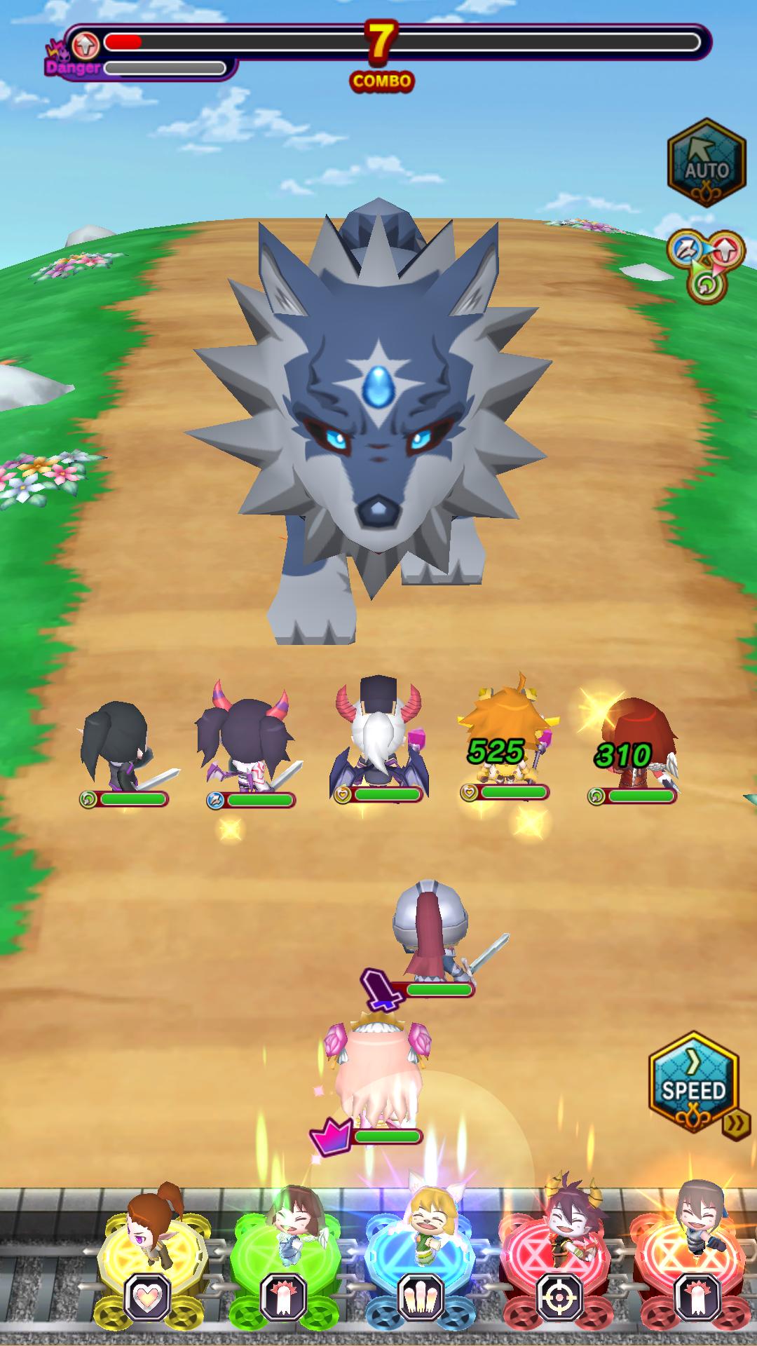 オオカミ姫 androidアプリスクリーンショット1