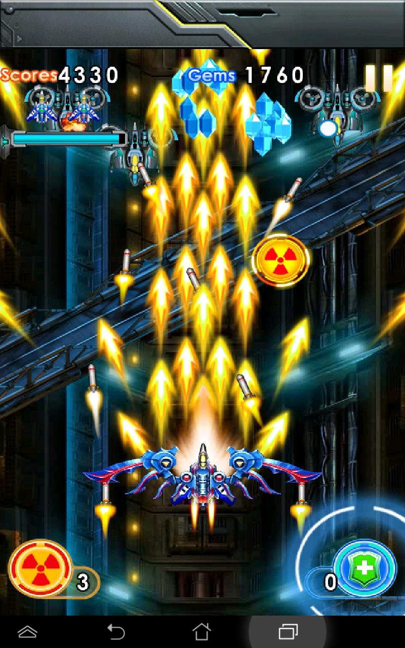 雷電戦機:嵐の奇襲 androidアプリスクリーンショット1