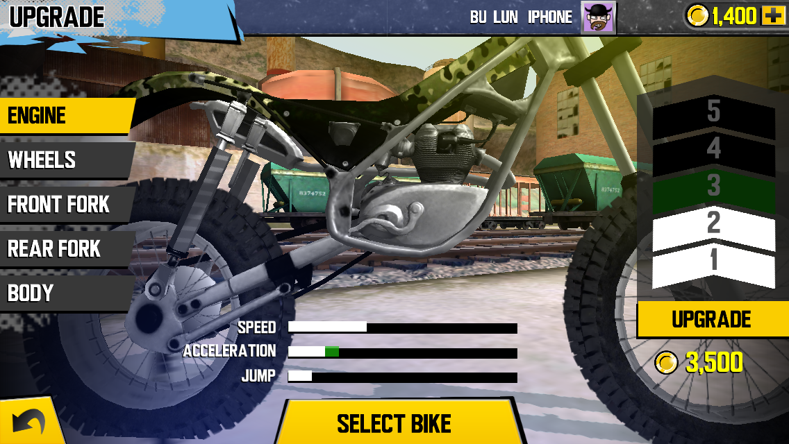 Trial Xtreme 4 androidアプリスクリーンショット2