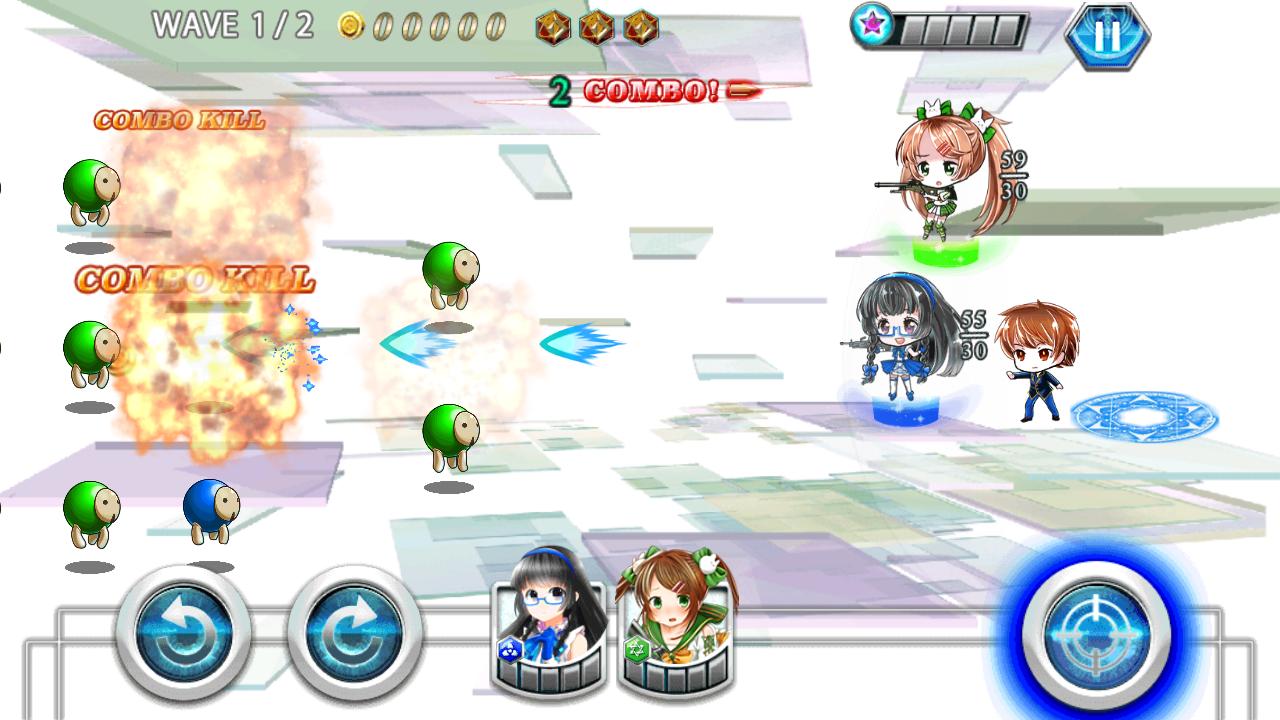 がんがんがーるズ! androidアプリスクリーンショット1