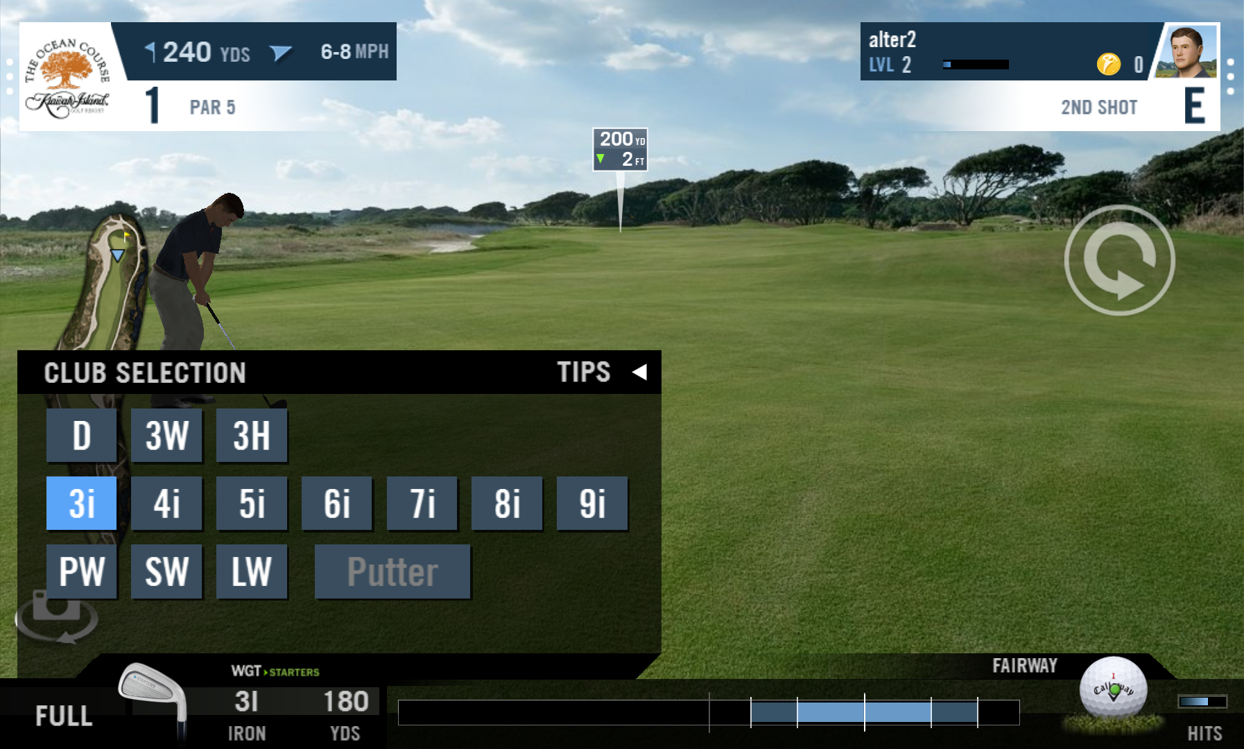 androidアプリ WGT Golf Mobile攻略スクリーンショット1