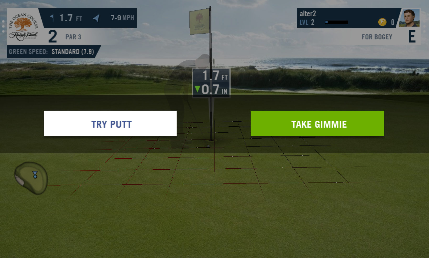 androidアプリ WGT Golf Mobile攻略スクリーンショット5