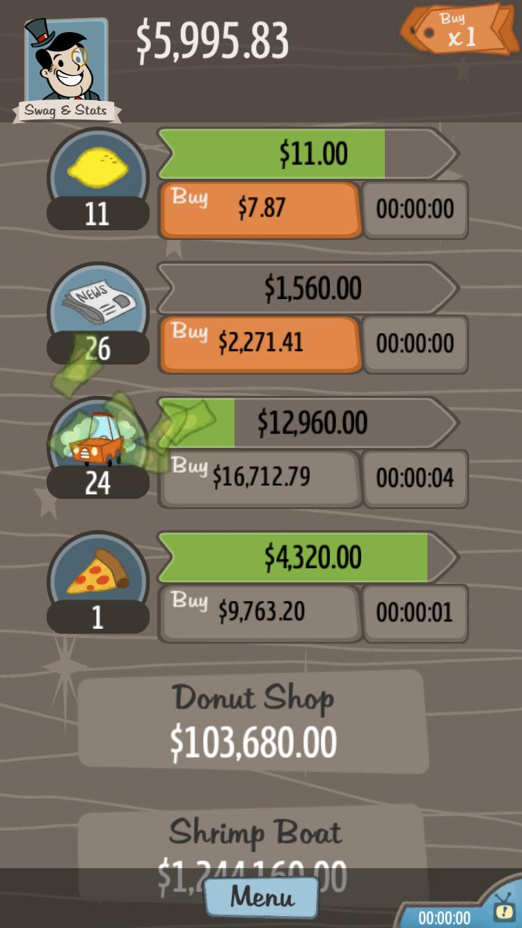 AdVenture Capitalist androidアプリスクリーンショット1